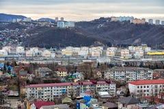 Raffinerie de Tuapse Russie Photographie stock libre de droits