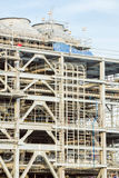 Raffinerie-Fabrik mit LNG Stockbilder