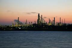 Raffinerie in Kanada stockbild