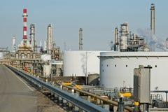 Raffinerie-Komplex Lizenzfreie Stockfotografie