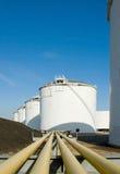 Raffinerie-Komplex Lizenzfreies Stockbild