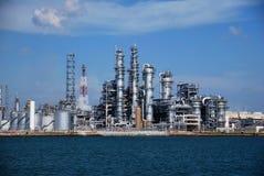 Raffinerie in Singapur Lizenzfreie Stockfotografie