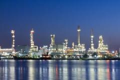 Raffinerieanlage Stockfoto