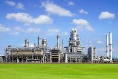 Raffinerieanlage an Europort-Hafen, Rotterdam lizenzfreies stockfoto