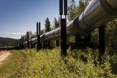 Raffineriemitte in Westsibirien Lizenzfreie Stockbilder