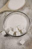 Raffinierter Zucker Lizenzfreies Stockfoto