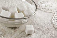 Raffinierter Zucker stockfoto