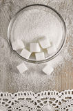 Raffinierter Zucker stockbilder