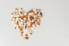Raffinierter Zucker Browns Lizenzfreie Stockfotografie