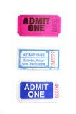 Raffle tickets Royalty Free Stock Photos