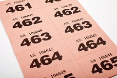 Raffle Tickets Stock Images