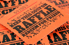 Raffle Tickets. Photo of Raffle Tickets Stock Images