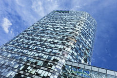 Raffles building in Beijing city center, China Royalty Free Stock Image
