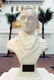 Raffles bust royalty free stock photography
