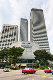 Raffles City complex, Singapore Royalty Free Stock Images