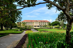 Raffles Grand Hotel d`Angkor Royalty Free Stock Photography