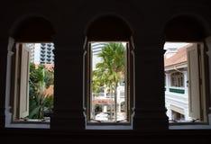 Raffles hôtel, Singapour Photo stock