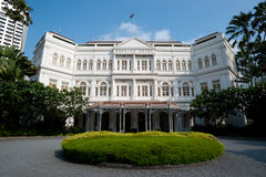 Raffles Hotel Royalty Free Stock Photo