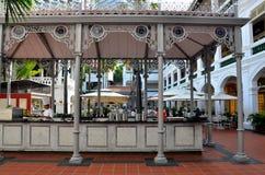 Raffles Hotel Courtyard bar and restaurant Singapore Royalty Free Stock Image
