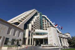 Raffles hotel in Dubai Stock Photography