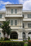 Raffles Hotel Singapore. Raffles Hote in Colonial Quarterl Singapore Stock Images