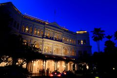Raffles Hotel Singapore Royalty Free Stock Image
