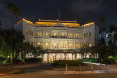Raffles Hotel in Singapore Royalty Free Stock Photos