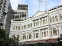 Raffles hotel, Singapur obraz stock
