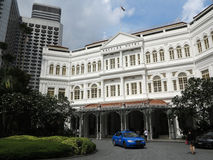Raffles hotel, Singapur obraz royalty free