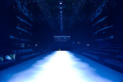 Raffles International Showcase backstage Stock Images