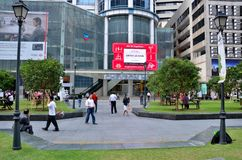 Raffles Place; Central Business District (CBD) Singapore Stock Photos