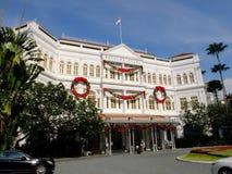 Raffles Singapore Hotel Stock Photo