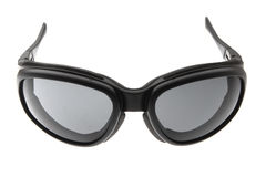 Raffreddi, adatti ed annerisca gli occhiali da sole di sport fotografie stock
