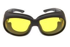 Raffreddi, modo ed occhiali da sole variopinti di sport fotografia stock