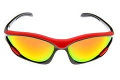 Raffreddi, modo ed occhiali da sole variopinti di sport immagine stock