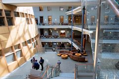 Rafik B. Hariri Building at Georgetown University Royalty Free Stock Photography