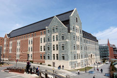 Rafik B. Hariri Building at Georgetown University Royalty Free Stock Image