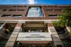The Rafik B. Hariri Building, at the Questrom School of Business. At Boston University, in Boston, Massachusetts Royalty Free Stock Image