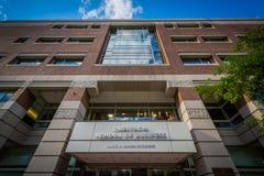 The Rafik B. Hariri Building, at the Questrom School of Business. At Boston University, in Boston, Massachusetts Royalty Free Stock Photography