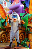 Rafiki the lion king baboon at disneyland hong kong Stock Photos