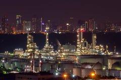 Rafineria przemysł Fotografia Stock