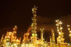 Rafineria ropy naftowej Fotografia Royalty Free