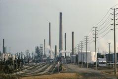 Rafineria ropy naftowej Zdjęcie Royalty Free