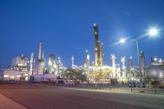 Rafineria ropy naftowej Corpus Christi, Teksas, usa fotografia royalty free