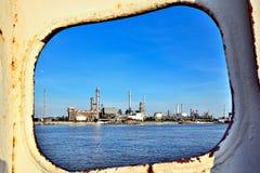 Rafineria Ropy Naftowej fotografia stock