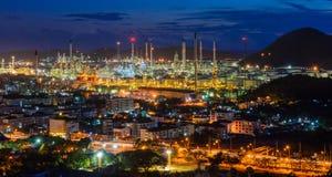 Rafineria ropy naftowej Laemchabang Obrazy Royalty Free