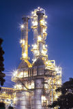 Rafinerii ropy naftowej roślina Obraz Royalty Free