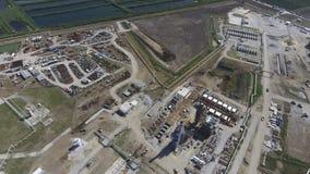 Rafinerii ropy naftowej roślina dla prasmoły i głębokiego przerobu ropy naftowej wyposażenie Zdjęcie Stock