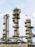 Rafinerii wierza Obraz Stock