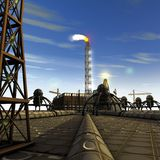 rafinery масла Стоковые Изображения